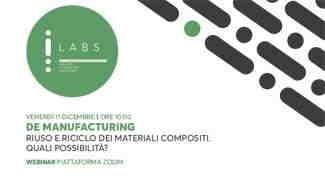 Save the date_De Manufacturing _Riuso e riciclo materiali compositi