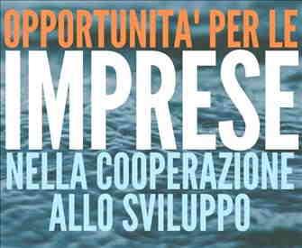 WORKSHOP - OPPORTUNITA' PER LE IMPRESE NELLA COOPERAZIONE INTERNAZIONALE - ANCONA 23 GENNAIO 2020