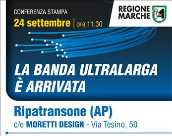 Diretta Streaming La Banda Ultra Larga è arrivata - evento oggi a Ripatransone ore 11.30