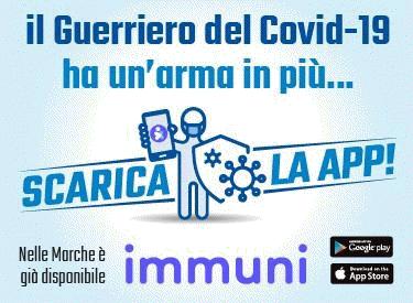 Si è attivata nelle Marche App Immuni