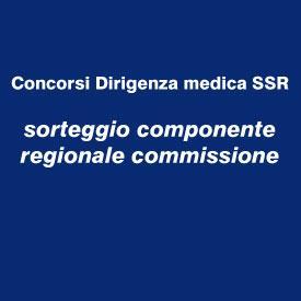 Seduta pubblica di sorteggio per individuazione componenti regionali Commissioni di Concorso Unificato per gli Enti dell'SSR