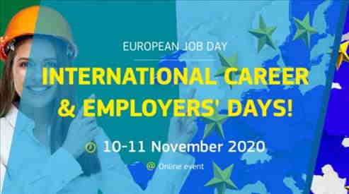 Le opportunità di lavoro della rete EURES Marche oltre l'International Career and Employers' Days