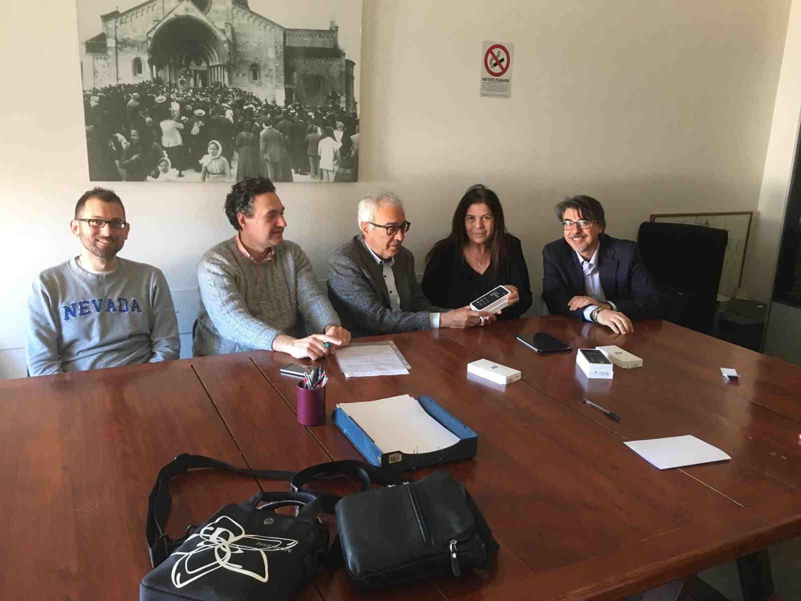 Incontro presso il Comune di Ancona con l'Assessore Manarini