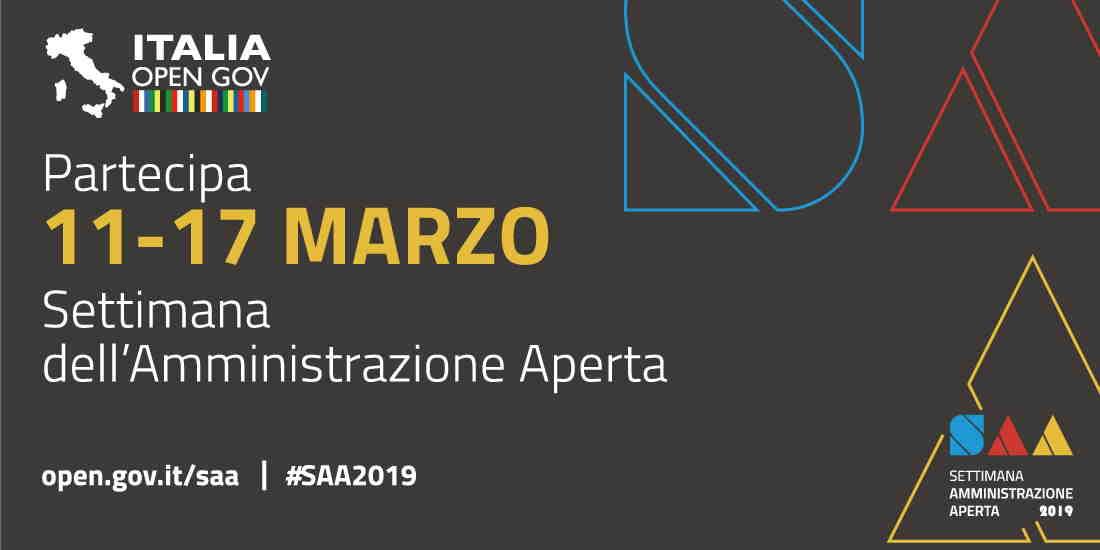 Settimana Amministrazione Aperta 11-17/03/2019 - Open Government Forum