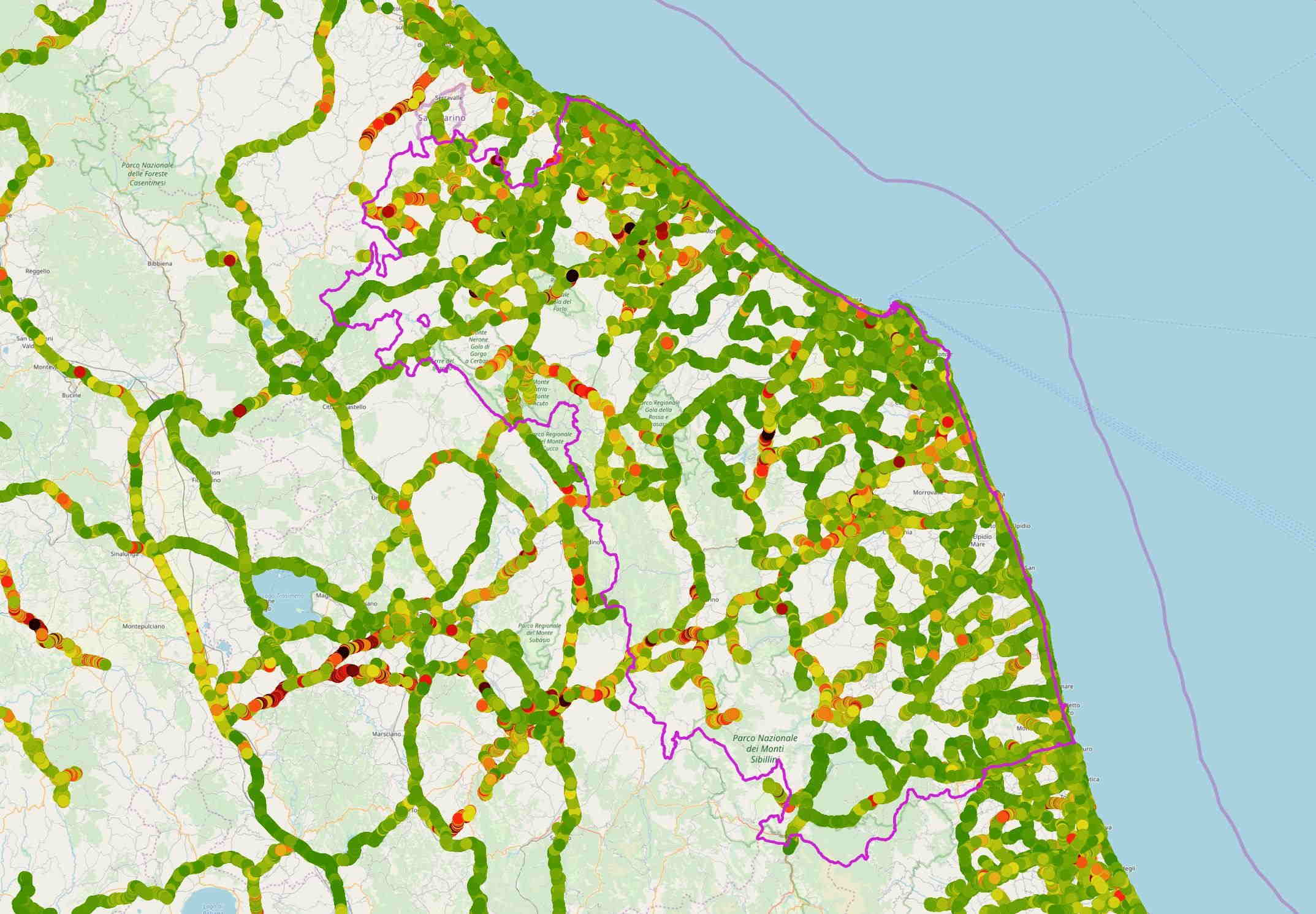 Marche Cartina Stradale.Regione Marche Regione Utile Agenda Digitale Crowd4roads
