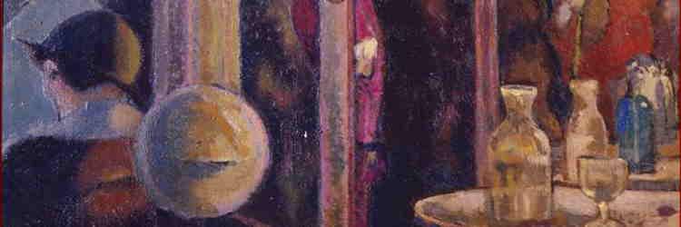 Anselmo Bucci, Caffè Cyrano, olio su tela, 1914, Ancona