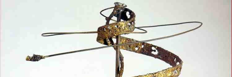 Edgardo Mannucci, Idea n. 8, rame e ottone saldatura filo di ottone, 1972, Ancona