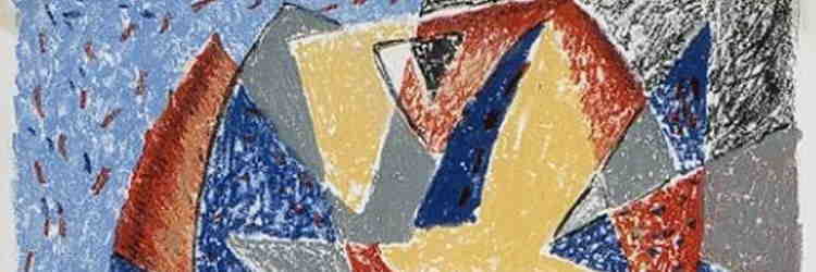 Gino Severini, Senza titolo, litografia, 1924, Civitanova Marche