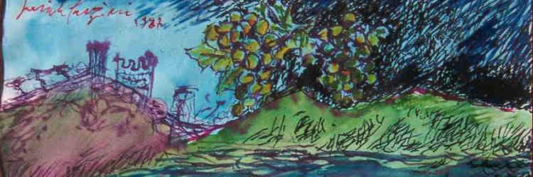 Pericle Fazzini, Etichetta, 1987, Cupramontana