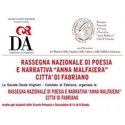 Premio nazionale di narrativa e di poesia Anna Malfaiera Città di Fabriano