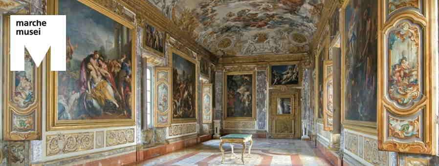 Macerata, Musei Civici di Palazzo Buonaccorsi, Galleria dell'Eneide