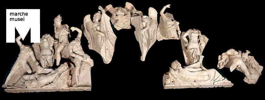 Frontone del Tempio di Civitalba, Ancona, Museo Archeologico Nazionale delle Marche