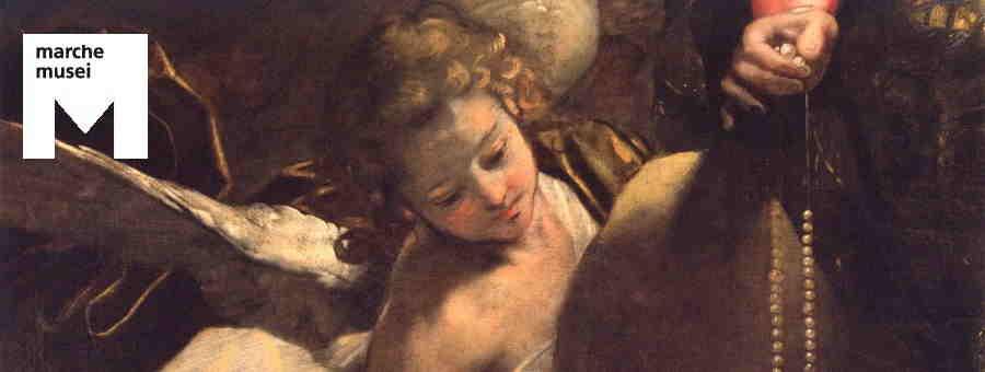 Federico Barocci, Madonna del Rosario (part.), Senigallia, Pinacoteca Diocesana