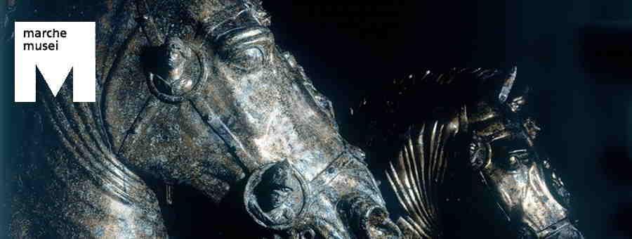 Gruppo dei Bronzi Dorati da Cartoceto (part.), Pergola, Museo dei Bronzi Dorati e della Città di Pergola