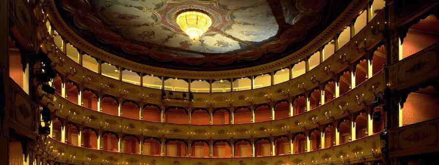 Teatro Rossini (interno), Pesaro