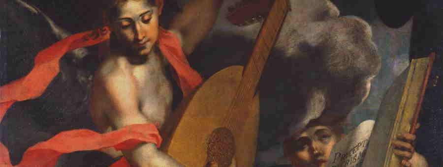 Andrea Lilli, Angeli musicanti (part.), Ancona, Pinacoteca Civica 'F. Podesti'