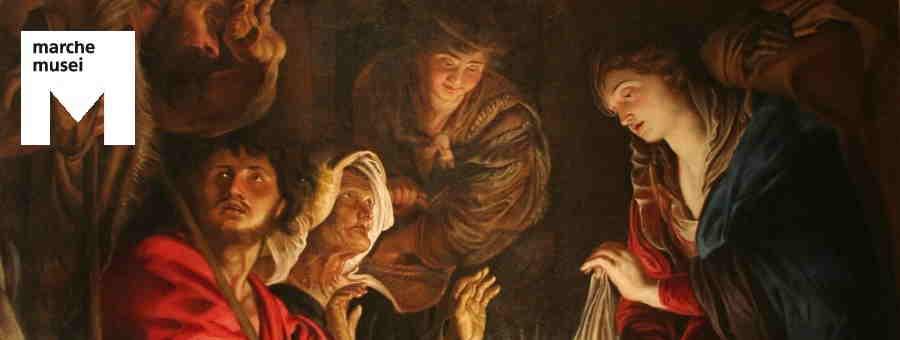 Pieter Paul Rubens, Adorazione dei Pastori (part.), Fermo, Polo Museale di Palazzo dei Priori'