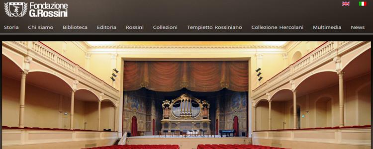 Fondazione Rossini logo