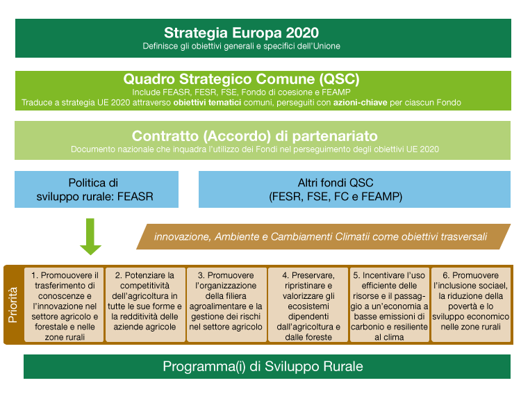 processo di definizione delle priorità del PSR