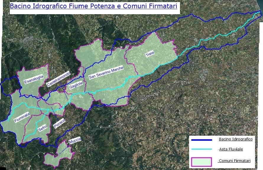 mappa Potenza