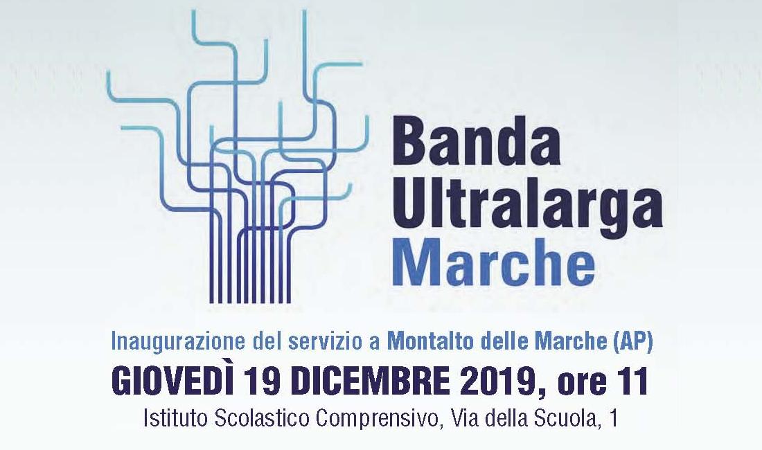 invito inaugurazione BUL Giovedì 19 dicembre ore 11:00 Montalto Marche (AP) - Istituto Scolastico Comprensivo via della Scuola 1