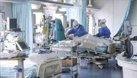 100 nuovi posti letto in terapia intensiva